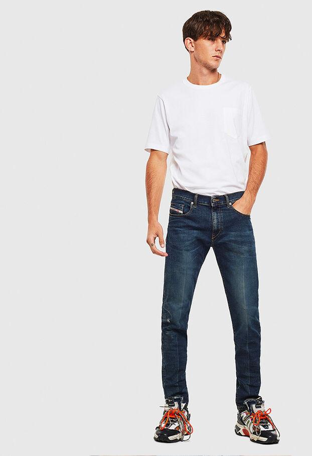 D-Strukt 0093J, Dark Blue - Jeans