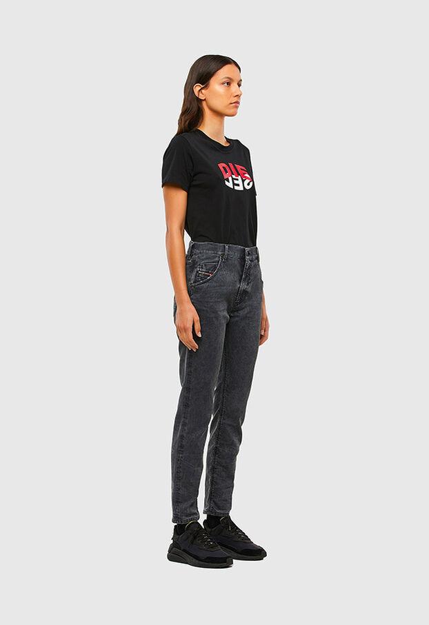 Krailey JoggJeans 069QB, Black/Dark grey - Jeans