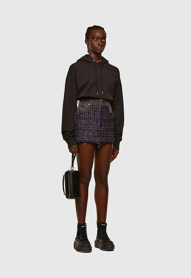 O-SAN, Violet/Black - Skirts