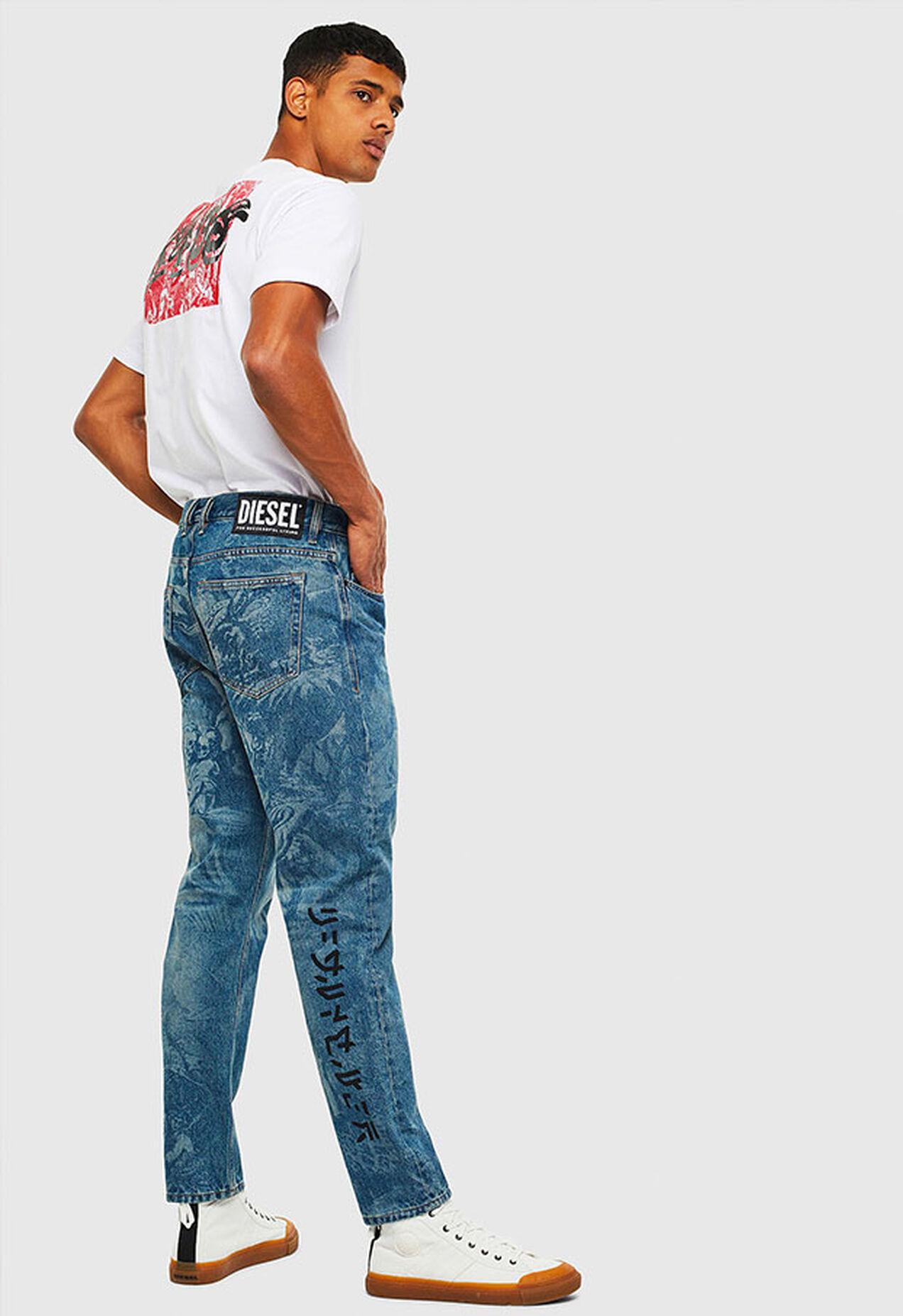 D-Vider 0079D, Medium blue - Jeans