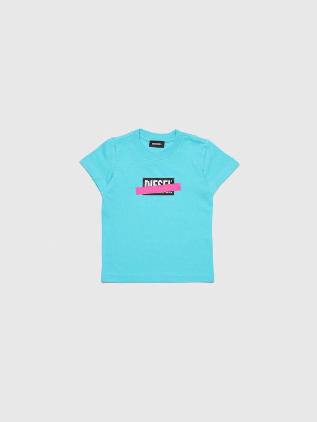 TJUSTDIXB-R, Azure - T-shirts and Tops