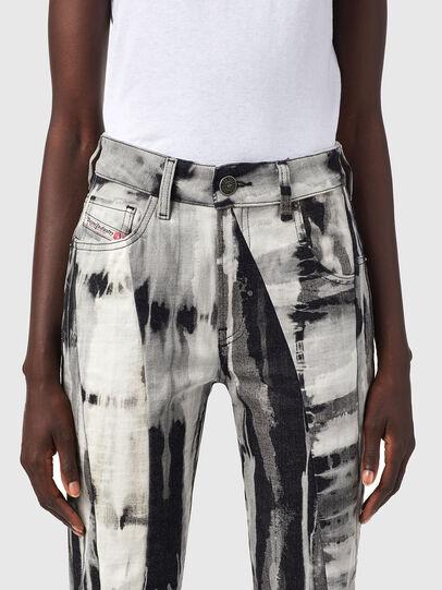Diesel - D-Joy 09B36, Black/White - Jeans - Image 3