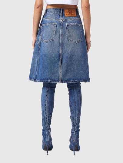 Diesel - DE-TOBY-SP, Medium blue - Skirts - Image 2
