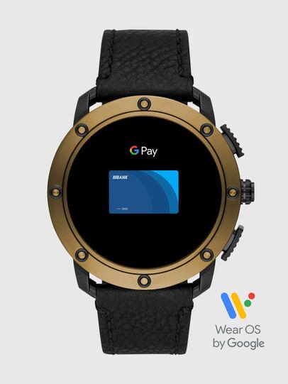 Diesel - DT2016, Black/Bronze - Smartwatches - Image 6