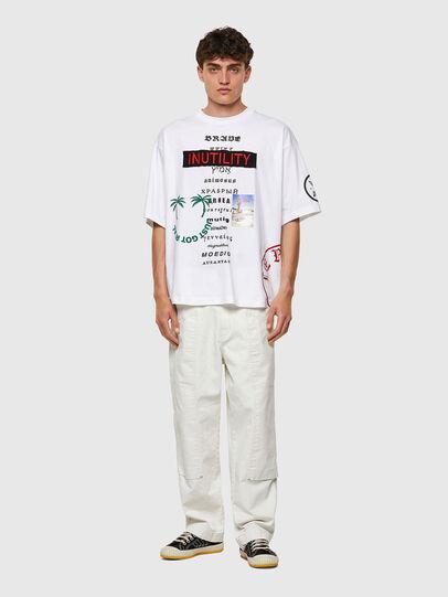 Diesel - T-BALM-B2, White - T-Shirts - Image 4
