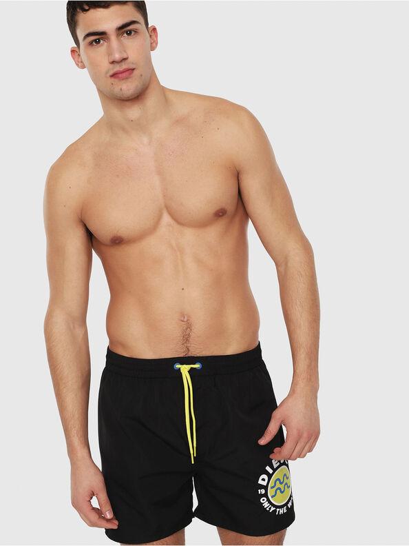 BMBX-WAVE 2.017, Black/Yellow - Swim shorts