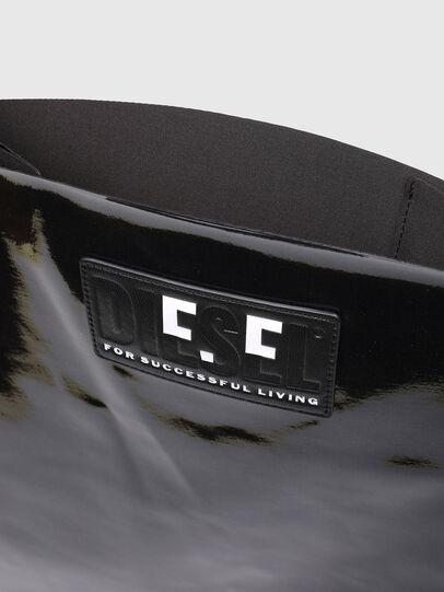 Diesel - GAR BAG M, Black - Shopping and Shoulder Bags - Image 3