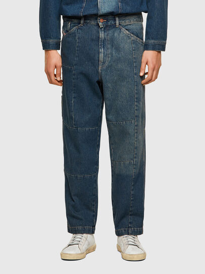 Diesel - D-FRAN-SP, Medium blue - Pants - Image 1