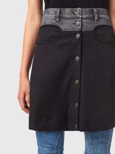 Diesel - O-LIA, Black - Skirts - Image 3