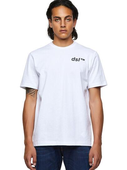 Diesel - T-JUST-B56, White - T-Shirts - Image 1
