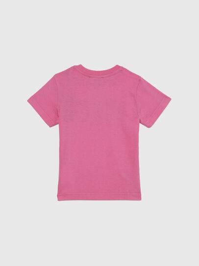 Diesel - TJUSTLOGOB-FL MC, Pink - T-shirts and Tops - Image 2