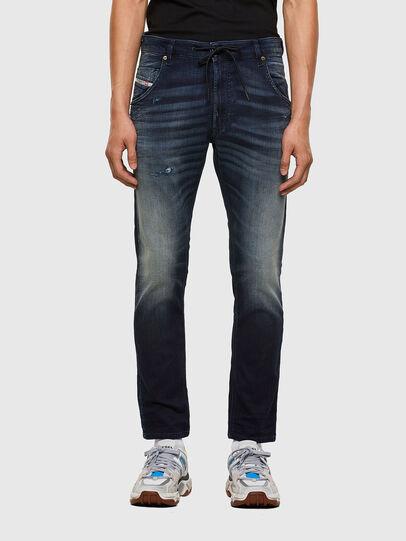 Diesel - KROOLEY JoggJeans® 069QD, Dark Blue - Jeans - Image 1