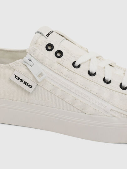 Diesel - S-ASTICO LOW ZIP W, White - Sneakers - Image 4