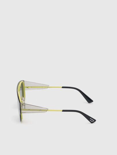 Diesel - DL0273, Black/Yellow - Sunglasses - Image 3