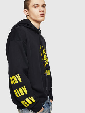 S-ALBY-A1, Black/Yellow - Sweaters