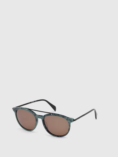 Diesel - DM0188, Green - Sunglasses - Image 4