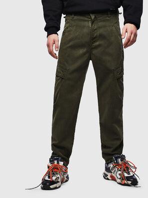 D-Krett JoggJeans 069LX, Military Green - Jeans