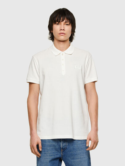 Diesel - T-WEET-E1, White - Polos - Image 1