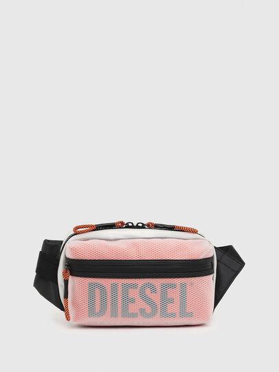Diesel - FAROH, White/Orange - Crossbody Bags - Image 1