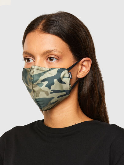 Diesel - FACEMASK-CAMU, Military Green - Other Accessories - Image 3