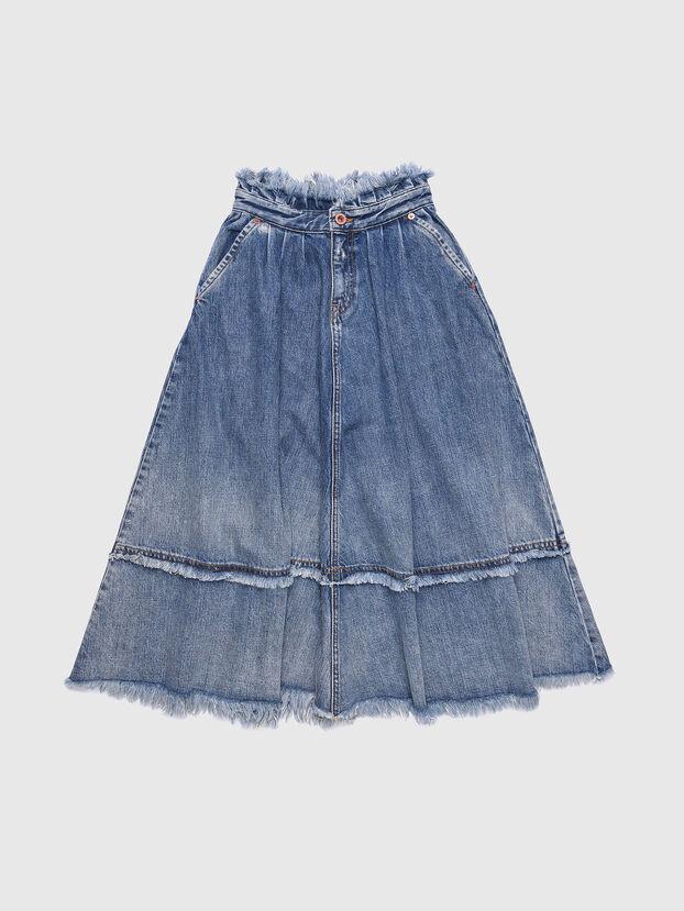 GLULABY, Blue Jeans - Skirts