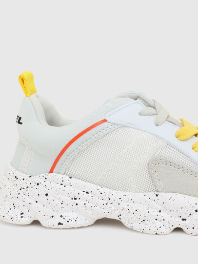 Diesel - S-SERENDIPITY LC CH, White/Yellow - Footwear - Image 4