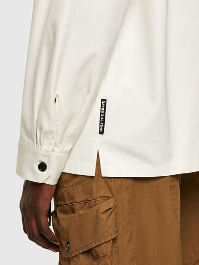 Diesel - S-BUNNELL-A, White - Shirts - Image 4