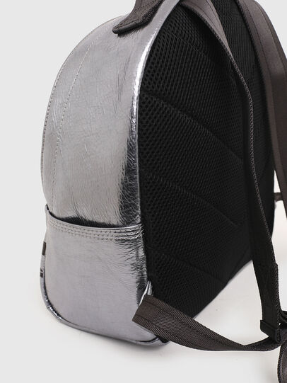 Diesel - F-BOLD BACK FL II, Silver - Backpacks - Image 5
