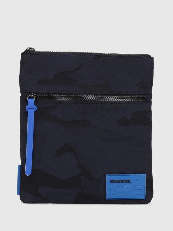 F-DISCOVER CROSS, Dark Blue - Crossbody Bags
