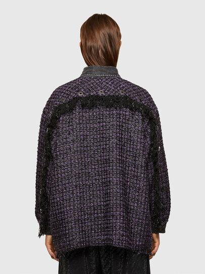 Diesel - C-HELEN, Black/Violet - Shirts - Image 2