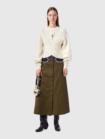 Diesel - M-RHODY, White - Knitwear - Image 5