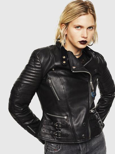 Diesel - L-IGE,  - Leather jackets - Image 1