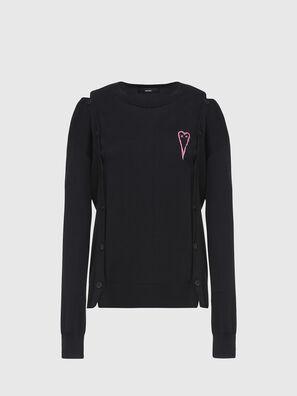 M-MIRANDA, Black - Knitwear