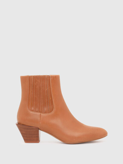 Diesel - D-TEXANNE CH, Light Brown - Ankle Boots - Image 1