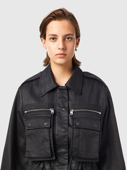 Diesel - D-CLAUDIA-SP JOGGJEANS, Black - Denim Jackets - Image 4