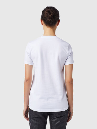 Diesel - T-SILY-B4, White - T-Shirts - Image 2