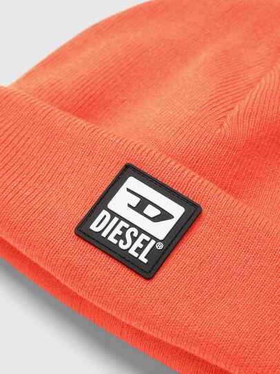 Diesel - K-XAU, Orange - Knit caps - Image 3