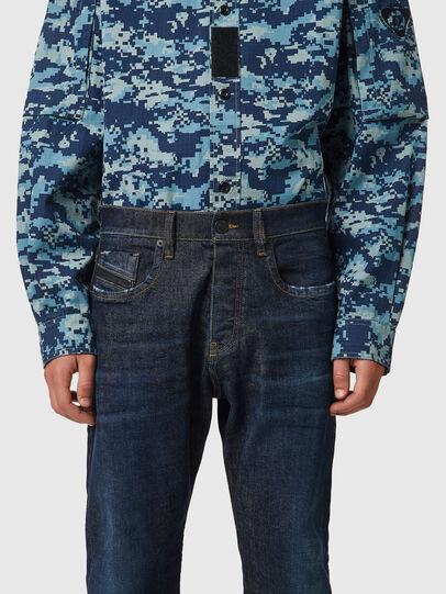Diesel - D-Viker 09B45, Dark Blue - Jeans - Image 3