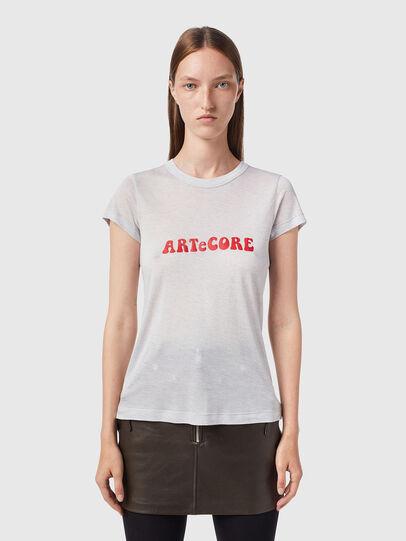 Diesel - T-RECUP-B2, Grey - T-Shirts - Image 1