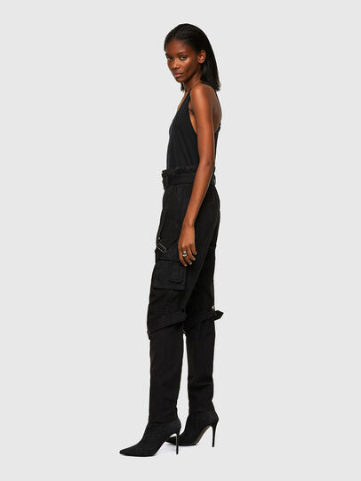 Diesel - P-FEDRA-A, Black - Pants - Image 3