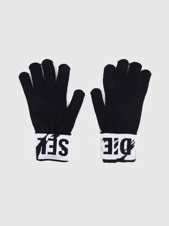 K-SCREEX, Black/White - Caps, Hats and Gloves