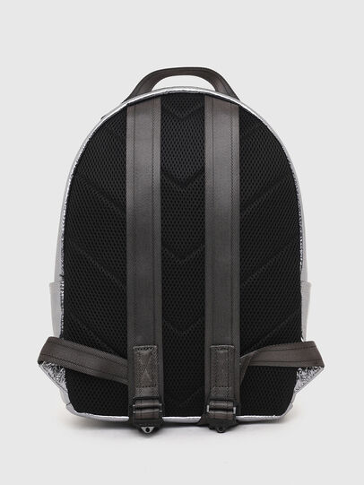 Diesel - F-BOLD BACK FL II, Silver - Backpacks - Image 2