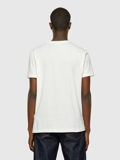 Diesel - T-DIEGOS-E2, White - T-Shirts - Image 2