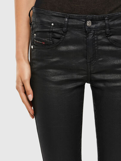 Diesel - D-Ollies JoggJeans 069QJ, Black/Dark grey - Jeans - Image 4