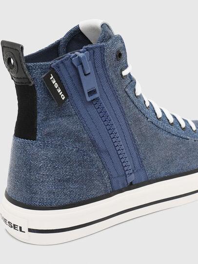 Diesel - S-ASTICO MID ZIP, Light Blue - Sneakers - Image 5