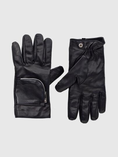 Diesel - GIRAGE, Black - Gloves - Image 1