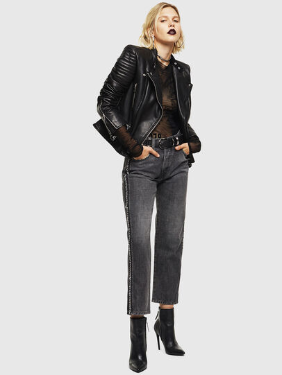 Diesel - L-IGE,  - Leather jackets - Image 5
