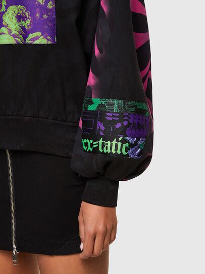 Diesel - F-BIORG, Black/Pink - Sweaters - Image 4