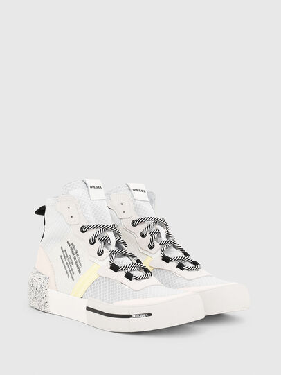 Diesel - S-DESE RC MID W, White - Sneakers - Image 2