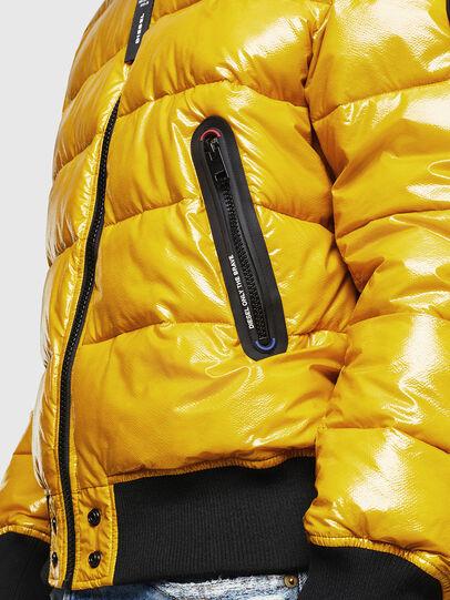 Diesel - W-ON, Yellow - Winter Jackets - Image 6